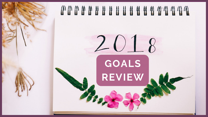 2018 Goals Review header image
