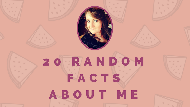 Random facts aboout me header image