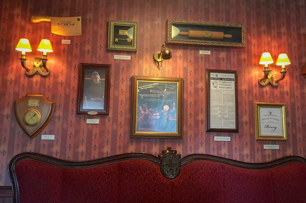 How To Plan For The Best Disneyland Paris Trip Ever, in the waiting area for Bistrot Chez Remy restaurant