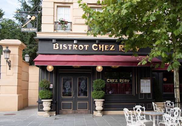 How To Plan For The Best Disneyland Paris Trip Ever, Bistrot Chez Remy restaurant entrance