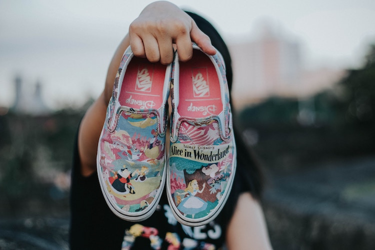 What To Pack To Get The Most From Disneyland Paris, header image of Alice in Wonderland pumps