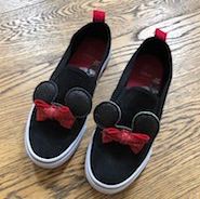 What to pack to get the most from Disneyland Paris, my cute minnie mouse ears shoes