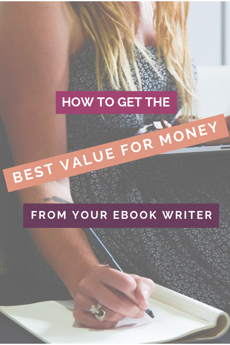How to get the best results from your Ebook writer, pinterest image