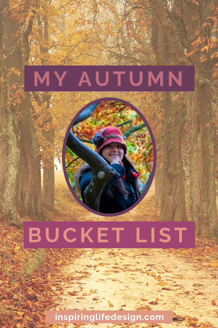Autumn Bucket List pinterest image