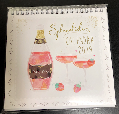 My 2018 Advent Calendar, 2019 calendar