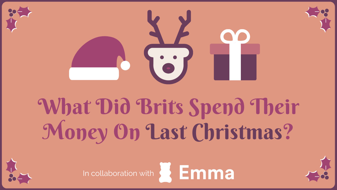 what did brits spend their money on last christmas header image