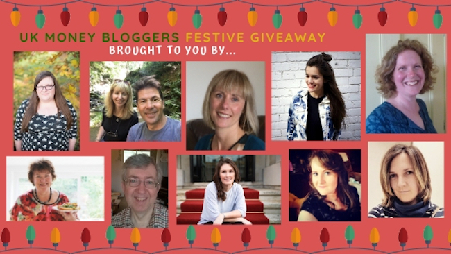 Festive prize giveaway, UK Money Bloggers running the giveaway