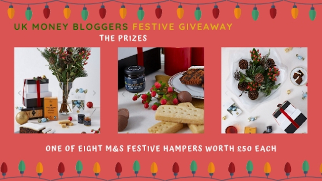 More of the UK Money Bloggers who have brought you the Festive giveaway