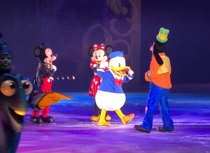February to April Income and Profit Report, Mickey and friends at Disney on Ice
