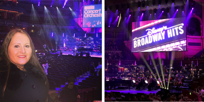 February to April Income and Profit Report, Corinna at the Royal Albert Hall