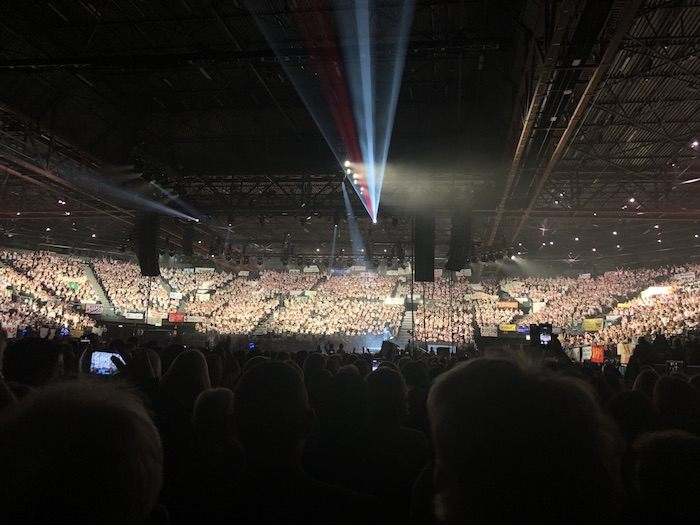 January Income and Profit Report, Young Voices concert at the Birmingham NEC