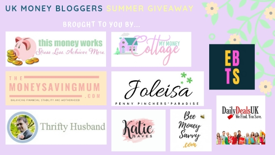 Summer prize giveaway, some more of the UK Money Bloggers running the giveaway