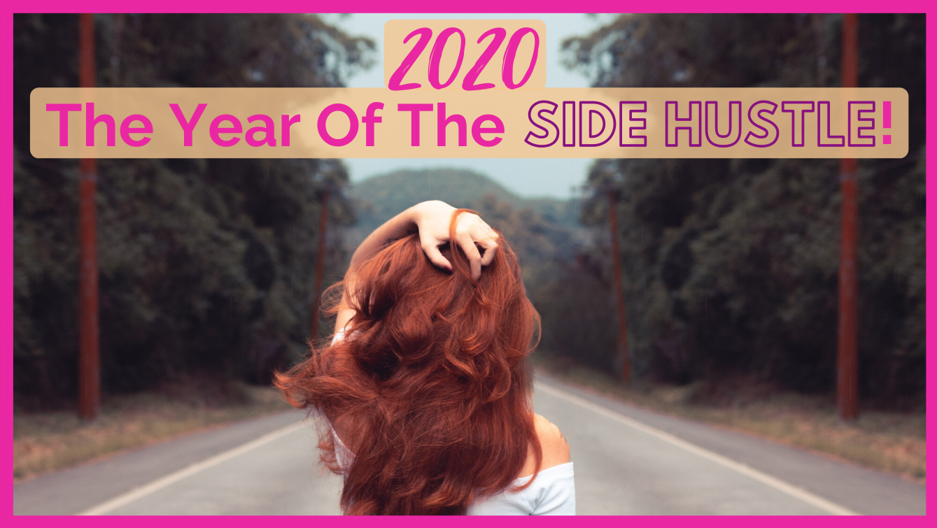Lady looking into distance thinking about what new side hustle should you start this year