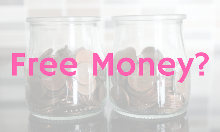 The First 6 Money Makers I've Tried, free money image