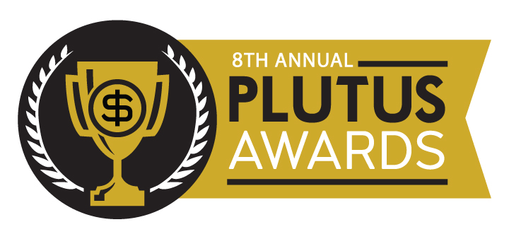 Fincon 2017 and the Plutus Awards in Dallas awards banner