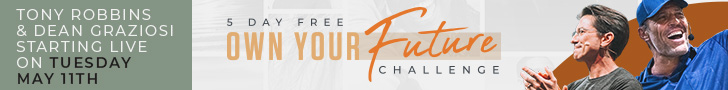 Own Your Future Challenge signup banner