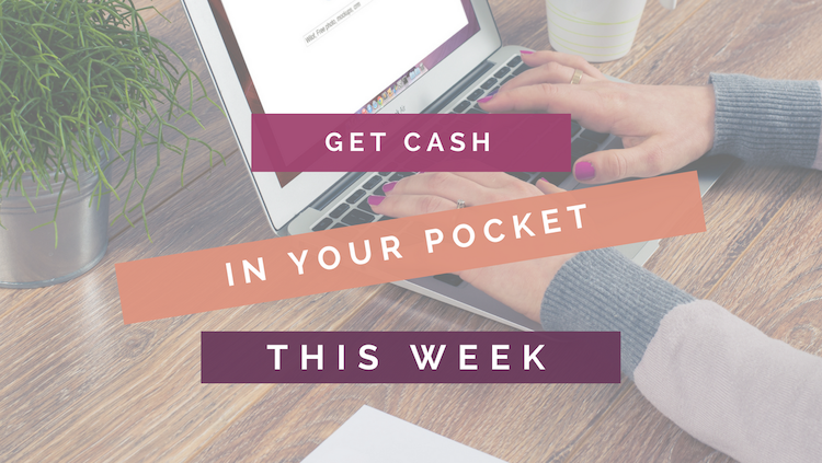 Get Extra Cash In Your Pocket This Week header