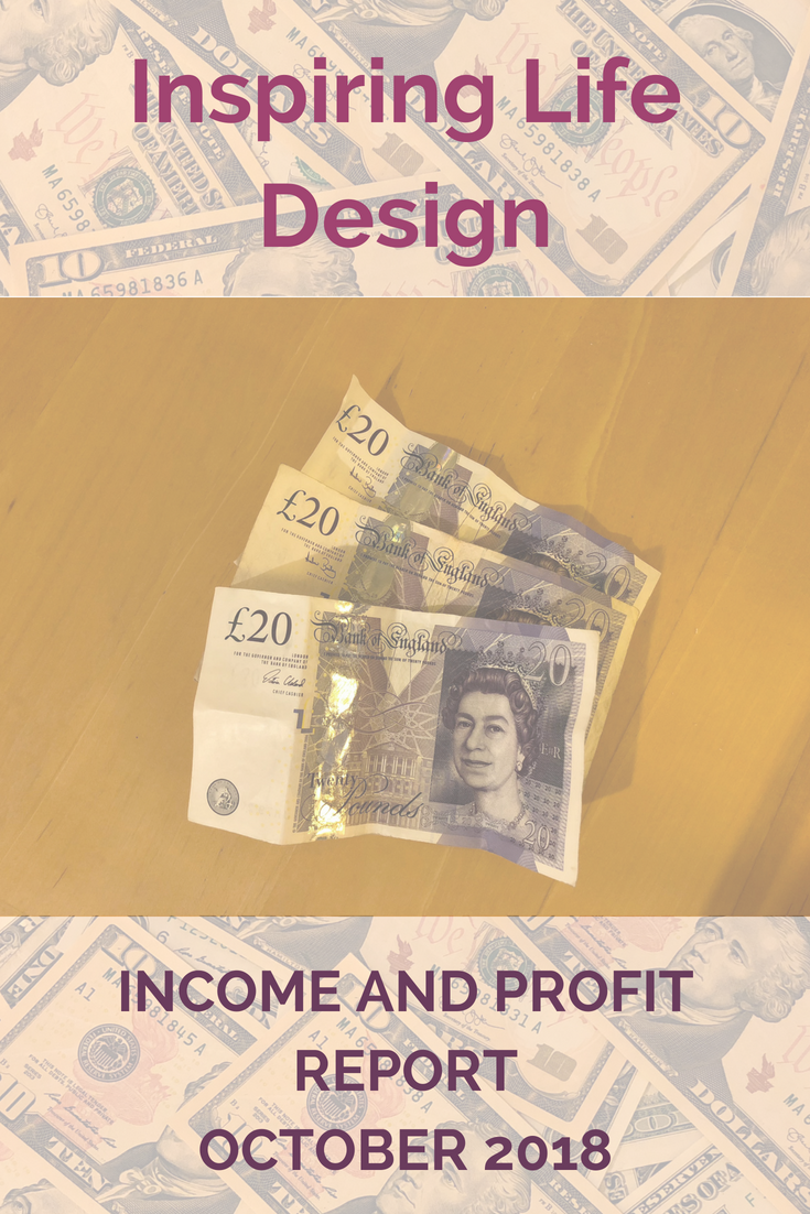 October income and profit report pinterest image