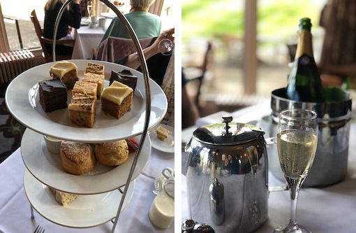 October 2018 Income & Profit Report, afternoon tea at the Welcombe Hotel