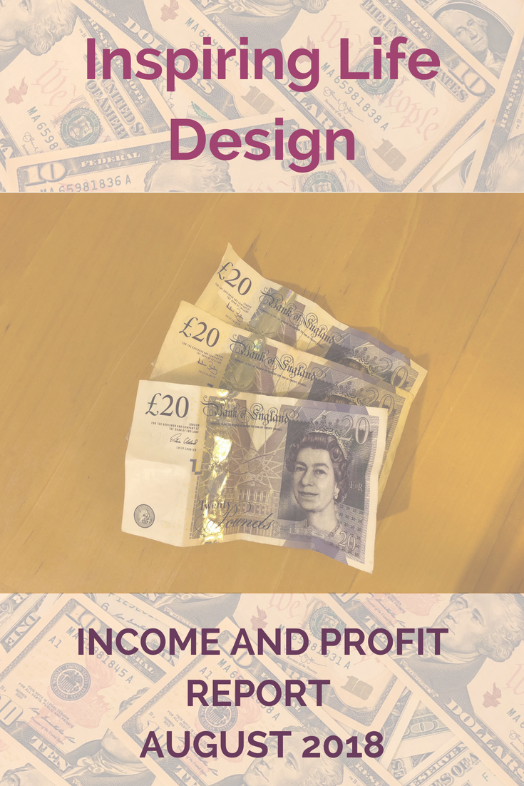 August income and profit report pinterest image