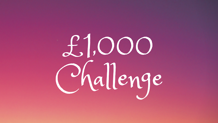 Let's get £1,000 richer this year £1,000 challenge image