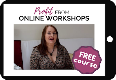 Profit From Online Workshops Course
